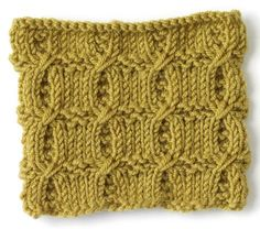 How To Knit: Cross Rib Stitch.