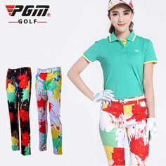 New PGM Golf pants ladies trousers colors anti-fade Sport pants freeshipping
