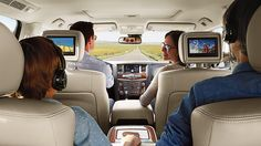 2017 nissan armada interior entertainment system pics