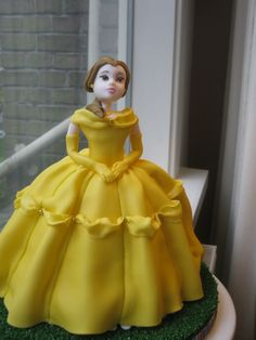 Belle Princess Cake By Theweeoracle on CakeCentral.com