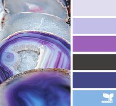 agate hues - design seeds