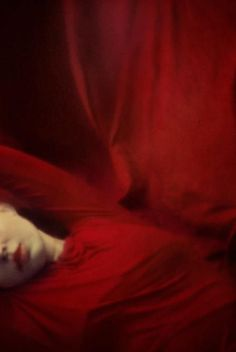 Summer Has Two Beginnings by Marta Orlowska I See Red, Photo Portrait, Red Rooms, Red Aesthetic, Aesthetic Pictures, Color Photography, Portrait Photography, Shades Of Red, Ruby Red