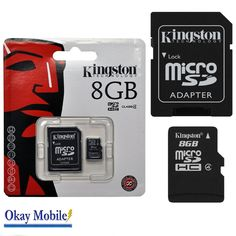 Save on 8GB Micro Memory SD Card for Samsung Galaxy Ace, Galaxy Note N7000 Mobile phone £3.59
