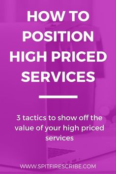 How to position high priced services to show of the value of your high end offers. Click through to learn 3 tactics to use (and one to avoid) when writing copy for your service packages. via /spitfirescribe/ Business Design, Creative Business, Business Tips, Online Business, Sales Motivation, Schools In America, Sales Techniques, Sales Strategy, Cleaning Business