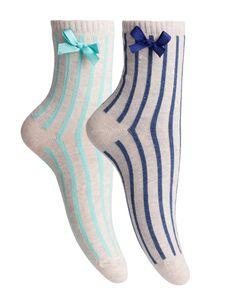 Set due calzini a righe