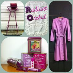 eclectica's got your Radiant Orchid - Pantone's Color of the Year 2014!