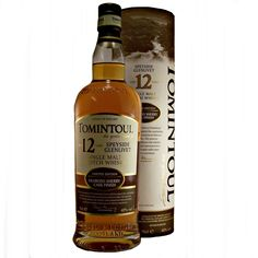 Tomintoul Oloroso Sherry Cask Finish 12 year old single malt whisky available to buy online at specialist whisky shop whiskys.co.uk Stamford Bridge York