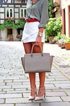 FashionHippieLoves: skort love http://fashionhippieloves.com