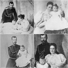 Nicholas and Alexandra with their first baby Olga. > Although Alexandra loved all her daughters; she was closest to her eldest, Olga.