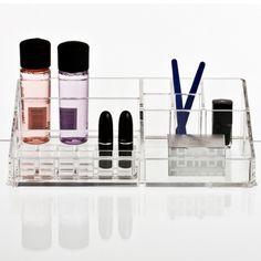 Boks til makeup sminke stor opbevaring klar acryl nomess copenhagen