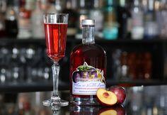 Delicious plum and vanilla Edinburgh gin liqueur