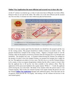 online-visa-application-the-most-efficient-and-secured-way-to-have-the-visa by Williams Jones via Slideshare
