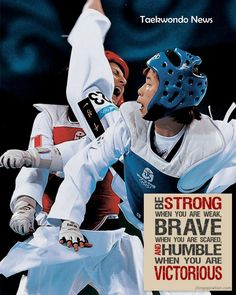 Why Tae Kwon Do is my world... its not a sport, its a philosophy :)