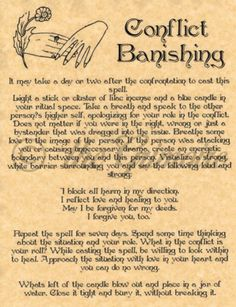 Conflict-Banishing-Spell-Book-of-Shadows-Page-BOS-Pages-Real-Wiccan-Spell