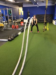 5. 5 double ropes, the higher the better :) 2nd circuit, each circuit 3 times