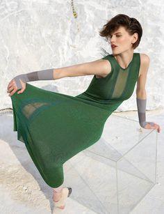 Saskia De Brauw stars in Missoni's Autumn/Winter 15 campaign