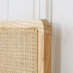 Testata per letto in rattan 160 cm Adele Tikamoon Driftwood Headboard, Rattan Headboard, Leather Headboard, Bookcase Headboard, Headboards For Beds, Daybed, Rattan Bed Frame, Futon Bed Frames, Wrought Iron Headboard