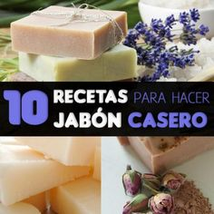 10 recipes for making homemade soap that anyone can do - Soap Organic Shampoo, Essential Oil Perfume, Essential Oils, Diy Spa, Cold Process Soap, Soap Recipes, Home Made Soap, Handmade Soaps, Soap Making