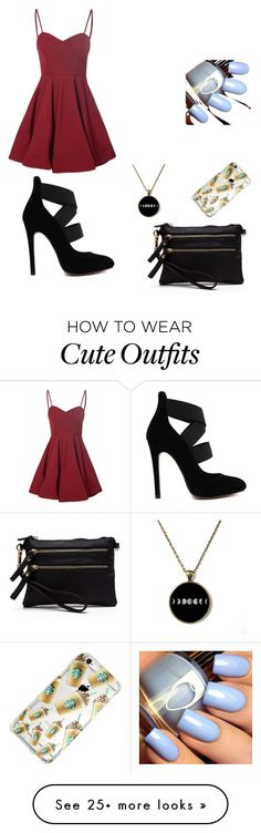 """cute summer outfit"" by karategirl200255 on Polyvore featuring Glamorous"