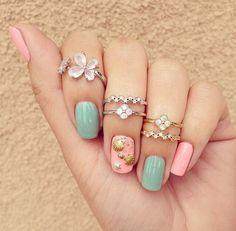 New Seashell Nail Design–