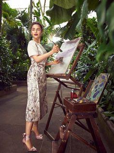 Эмилия Кларк в Harper's Bazaar (Интернет-журнал ETODAY)