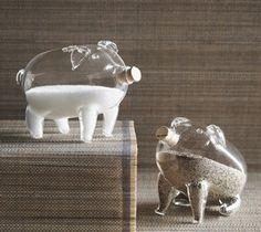 establish. - PIGS Salt & Pepper Shakers by roost
