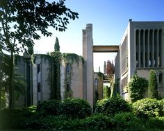 Old cement factory barcelona design amazing architectureThis one belongs to architect Ricardo Bofill's and it serves as his Barcelona home and office. Bofill found the abandoned cement factory in 1973 and transformed it into a livable space but highlighting its the industrial and raw feel.