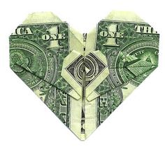 if you're thinking of getting your man a nice money clip for valentine's day, attaching some heart money would be a great idea!