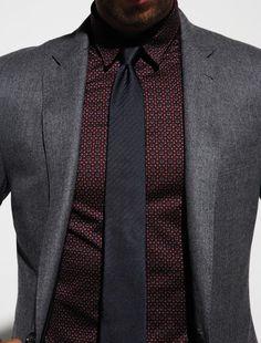 J-Crew blazer + Hermes shirt + Boss tie