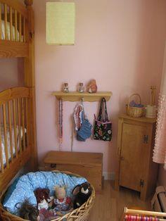 Pink room corner by Amy Wonder Years, via Flickr
