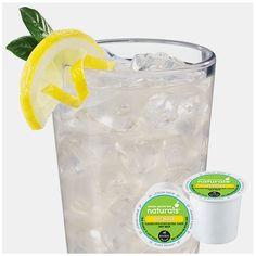 Green Mountain Naturals Lemonade.... Love making lemonade in our Keurig. Best EVER!!!!