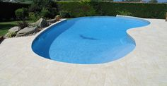 stencil concrete around pool - Google Search