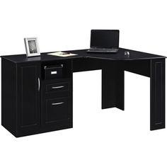 Altra™ Chadwick Collection Corner Desk, Nightingale Black | Staples