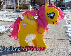 My Little Pony pinata Fluttershy  by Marlenespinatas