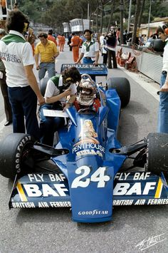 Keegan 1977 Monaco Hesketh 308E