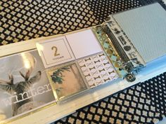 4x4 album pocket pages for December Daily 2015. Yet without pictures and journaling. Ready for december! By Louise Havlykke