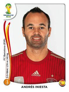 Andres Iniesta - Spain