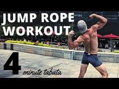 4 Min. Jump Rope Tabata Workout - YouTube