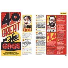 Nuts Magazine - 40 Gags on Typography Served