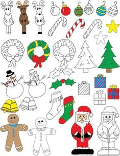 Merry Christmas and Happy Holidays from Little Genius Projects!This is my gift for you this season. I hope you enjoy it!Christmas and Holiday Clip Art is free for you to use for personal and commercial use. All I ask in return is for artist credit included in your product description when you use my art for commercial use.Please include the following if you use these images for commercial use: Clip art credit to Leanne Petitt.