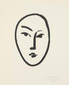 Gran masque by Henri Matisse, 1948