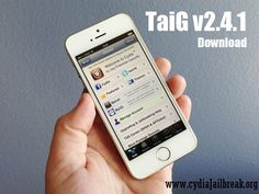 TaiG team released TaiG 2.4.1 Jailbreak update for iOS 8.1.3 – iOS 8.4 Cydia download. TaiG 2.4.1 download mainly focused to fixed the issue of getting stuck at 60% at iOS 8.4 Cydia download process.