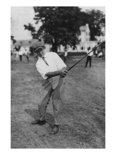 Bobby Jones, a 14-year-old Atlanta prodigy, hits a shot on the 13th hole of the Merion Cricket Club in Ardmore, Pennsylvania, during his third-round match against Bob Gardner at the 1916 U.S. Amateur. Gardner defeated Jones, who was playing in his first major championship. The following year, Jones would become the youngest player ever to win the Southern Amateur and, in 1924—back at Merion—he would win his first of five U.S. Amateur titles. This vintage golf photo appears courtesy of the…
