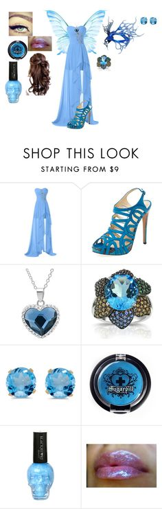 """Untitled #116"" by hope2002 ❤ liked on Polyvore featuring Alexandre Birman, Amanda Rose Collection, BillyTheTree and Maybelline"