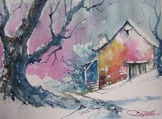 aube gelée / dawn frost  by chrisaqua47, via Flickr
