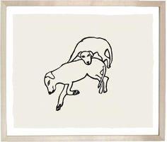 John Derian Company Inc — Two Labradors