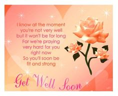 Get Well Soon Messages Religious | ASK A QUESTION Let's send our best wishes to our friend Sir Ian Hill ...