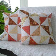 pinwheels by QuiltFinger, via Flickr