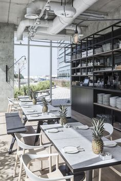 No.57 Boutique Cafe in Abu Dhabi by Anarchitect