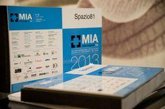 spazio81 partener tecnico nella produzione dei cataloghi MIA 2013